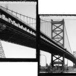 Ben Franklin Bridge, Philadelphia, 1927.