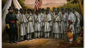 US recruitment of Buffalo Soldiers to murder Indians.