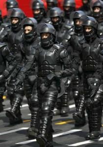 Ineffective cop cluster.