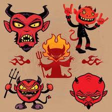 Devil among Red Necks.