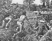 Indigenous invented guerilla warfare.