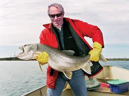 The big fish got caught.