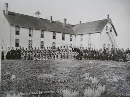 Six Nations death camp established in 1870 to exterminate Mohawks.