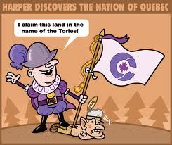 harper claims PQ