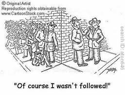 not followed