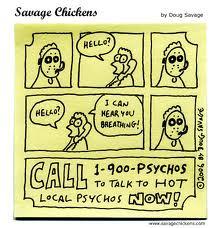 psycho chickens