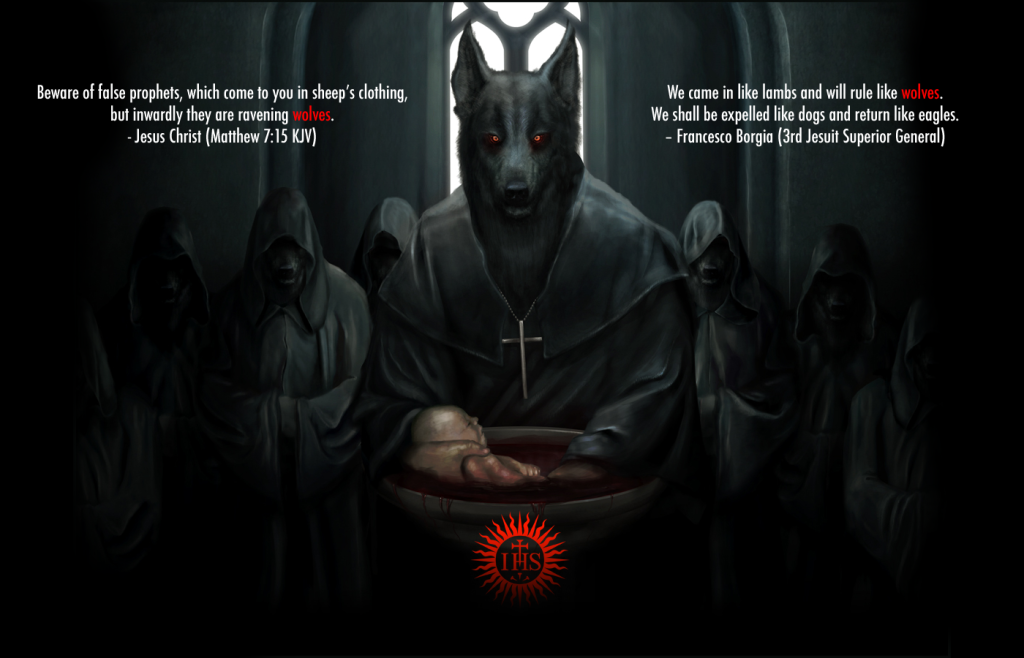 """Jesuit Wolves: """"Louis, those Mohawks just won't plow the land & work for us for nothing""""!"""