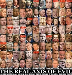 Chart of global scumbags!