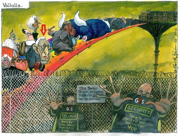 Martin Rowson cartoon 8.6.2013