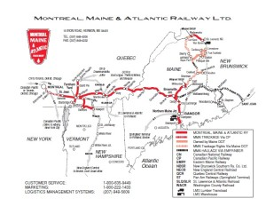 """Kahnawake """"Adirondack Junction"""" is to the right, just south of Montreal."""