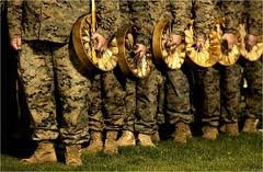We defend our Mother with drums ...