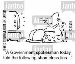 shameless lies