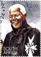 Madiba in his Knights of Malta get-up.
