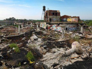 Bankers created Motor City ruins!