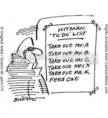 hitman does
