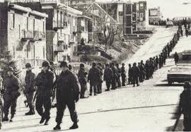 Army marches into Montreal 1970.