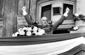 """The bankers sent Charles de Gaulle over to scream  """"Vive le Quebec livre!"""""""