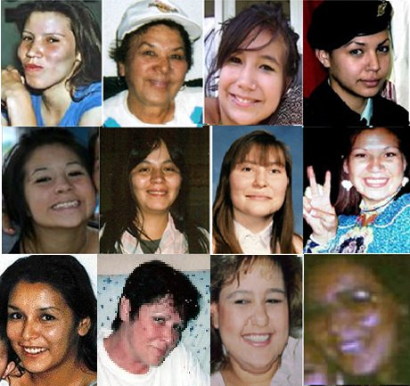 Our missing and murdered girls and young women.