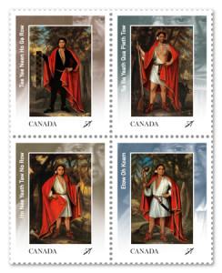 Four-Kings-Stamp-Block