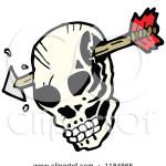 skull w arrow