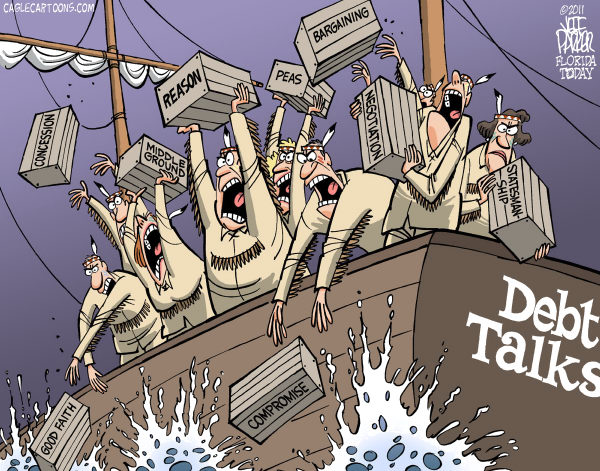 """Band/tribal councils getaway: """"Quick! Get rid of evidence of what we are really doing and sail to our offshore bank accounts."""""""