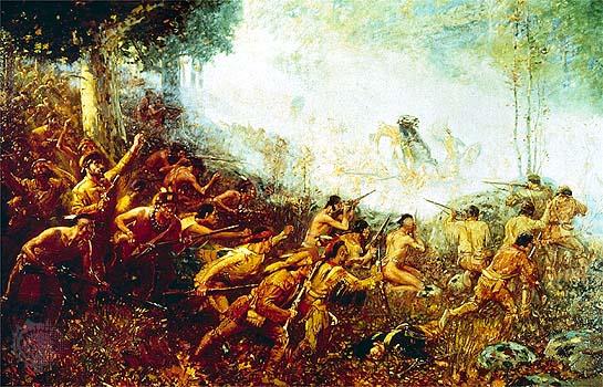 Remember, we won French & Indian Wars.