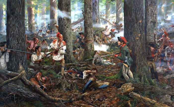 Herkimer beat the French in another war they wished they'd won!
