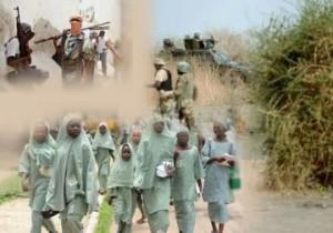 Same girls captured by Boko Haram. Photoshopped.
