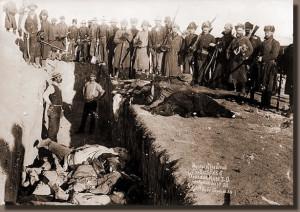 Wounded Knee Massacre 1890.