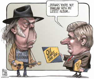 neil young:harper