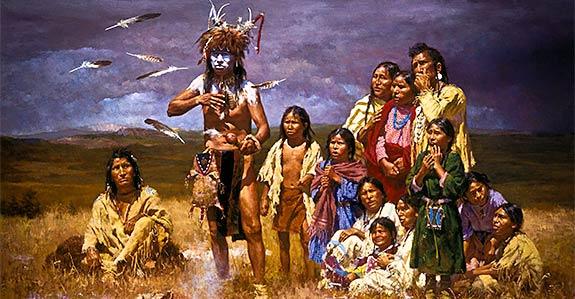Thahoketoteh & family.