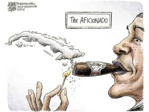 obama cigar