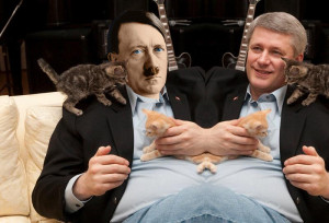 We are a mirror image, Adolph!