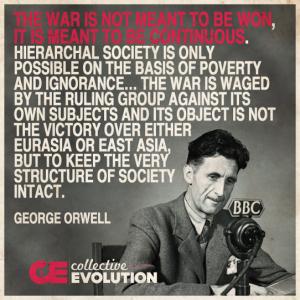 orwellon war