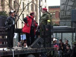 AIM red berets