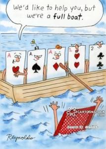 Joe's off-shore casino on the S.S. Concordia!