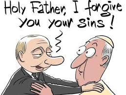 putin forgives pope