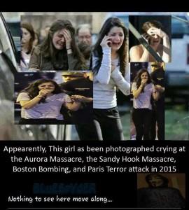 False flag girl seen in Montreal. Disaster ahead!
