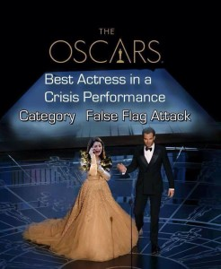 Oscar for False Flag girl!