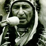 Angus Horn of Kahnawake was a spokesperson on the occasion in 1942.
