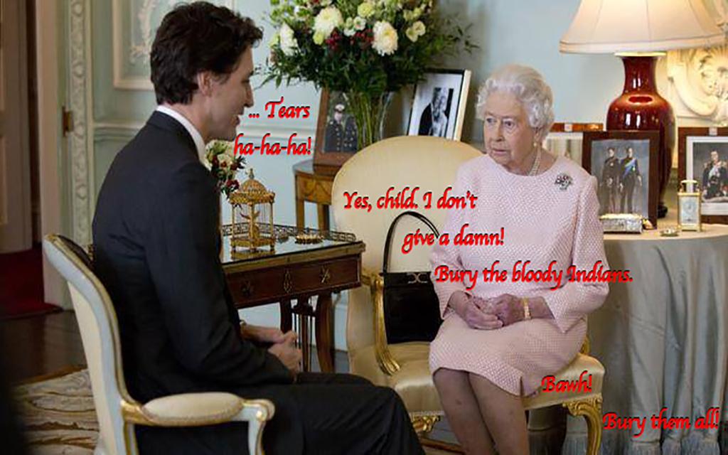 """Queenie, you're going!"""
