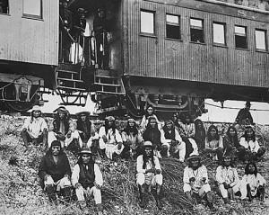Geronomo, Apaches & traitors going to Florida prison.