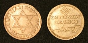 NaziJewish Medal to honor Jews for helping Hitler.