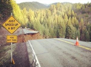 Corporate road.