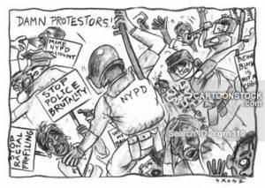 'Stop Police Brutality!'
