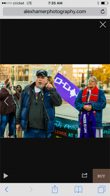 """Onondaga Rally: """"Do you drink, eat, breathe and walk upon the land? This is your fight!"""""""