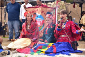 The Sami of Norway join the water defenders.